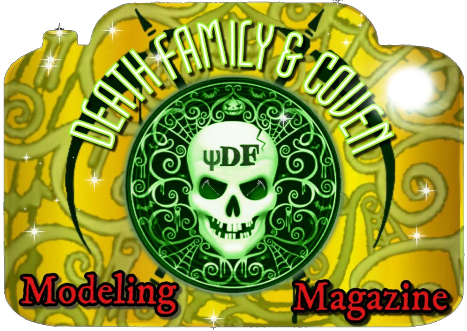 Death Family Modeling Magazine
